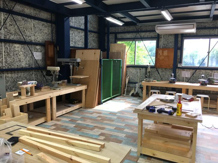 木工スペース