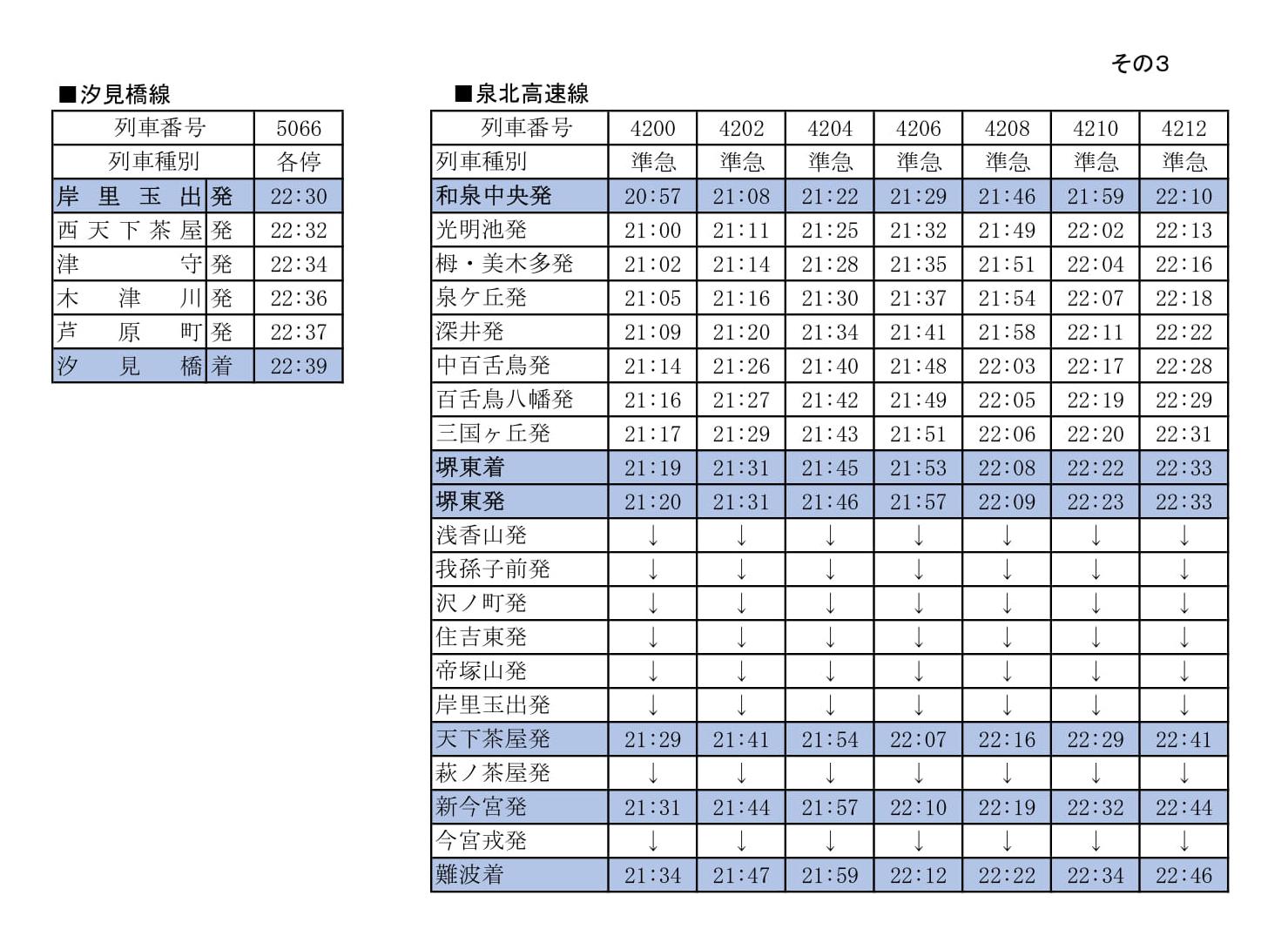 「PL花火芸術2018」開催にともなう臨時列車の運転について