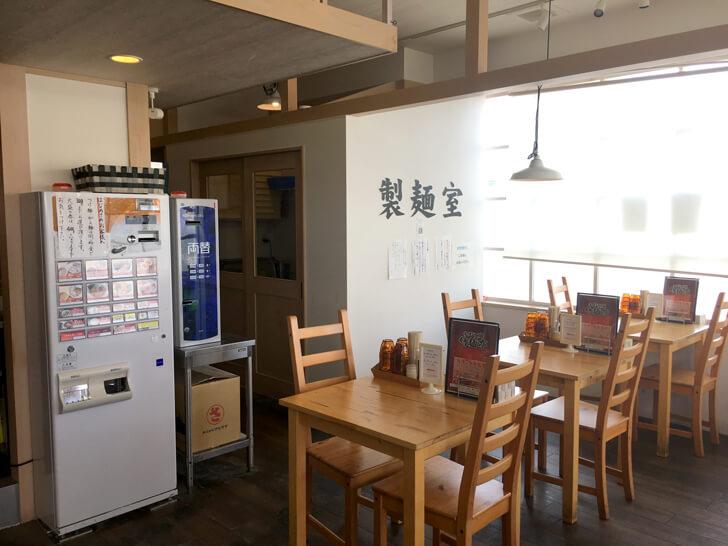 「竹麺亭」店内