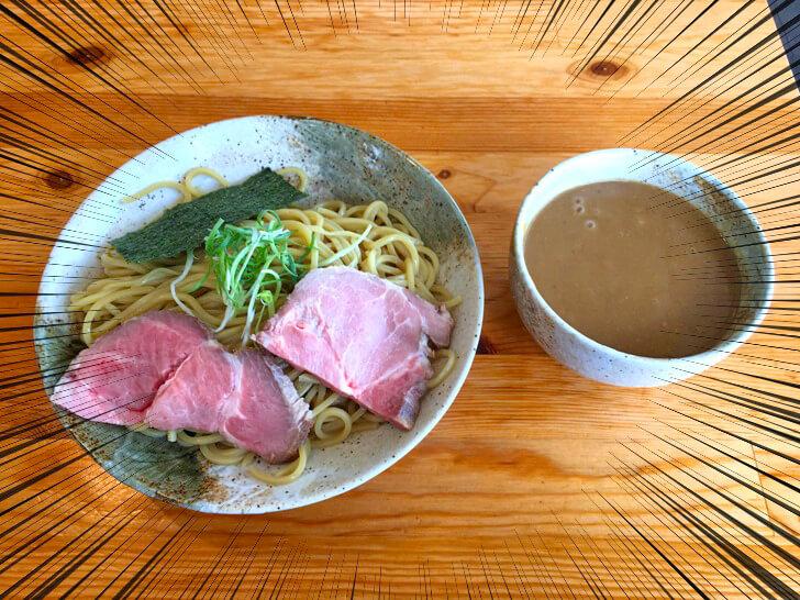 魚介醤油つけ麺(こってり)麺300gが登場!!