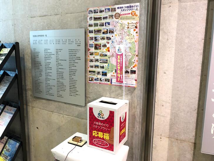南河内「大阪産(おおさかもん)めぐり」スタンプラリー2018狭山池博物館