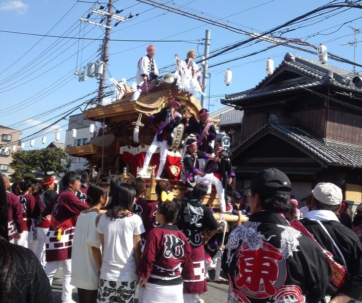 【平成30年度】「池尻だんじり祭」が2018年10月7日、「大阪狭山市地車(だんじり)連合会 連合曳きパレード」が2018年10月13日・14日に開催!