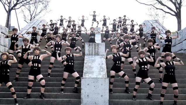 【狭山池で】登美丘高校ダンス部が、T.M.Revolutionの『HOT LIMIT』を踊ってみた!