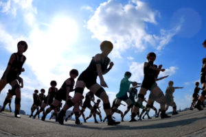 登美丘高校ダンス部が、T.M.Revolutionの『HOT LIMIT』を狭山池で踊ってみた!
