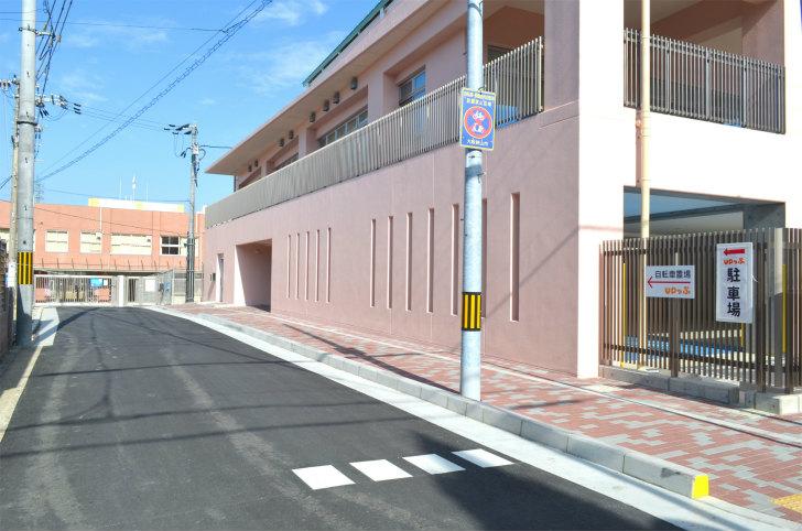 「UPっぷ」自転車置場・駐車場の場所は