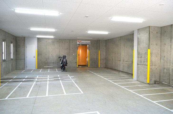 「UPっぷ」駐輪場