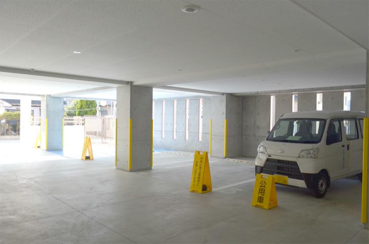 「UPっぷ」駐車場