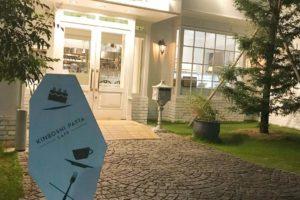 自家製生パスタ専門店「KINBOSHI PASTA CAFE(金星パスタカフェ)」へ散歩途中に寄ってきました