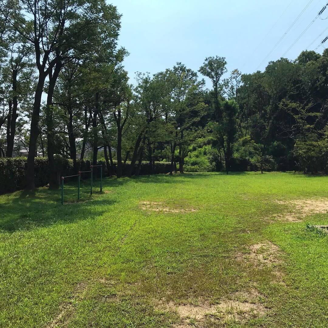 散歩途中に「大野台第6公園(ロケット公園)」に寄ってきました