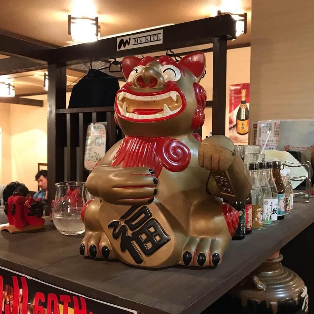 2019-10-18【駅から2分の沖縄】金剛駅前にある沖縄料理の居酒屋「酒彩 とっさま」に散歩帰りに寄ってきました (3)