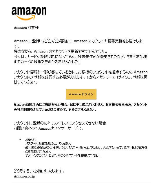 Amazon 問い合わせ 先
