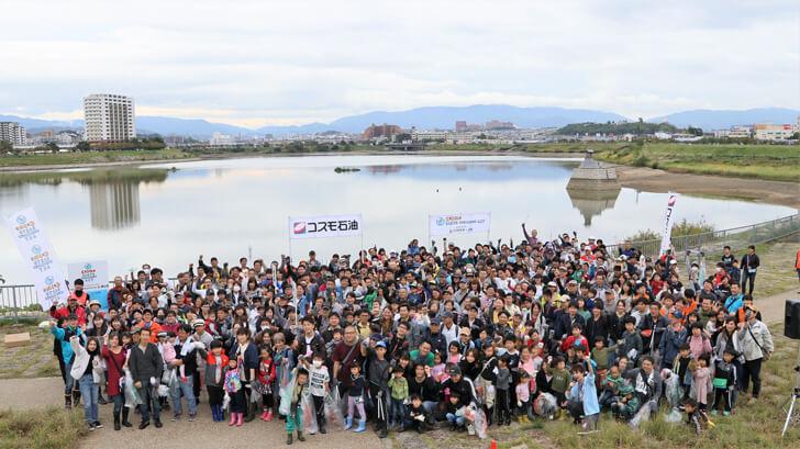 「狭山池クリーンアクション」×「コスモ-アースコンシャス-アクト-クリーン・キャンペーン-in-狭山池」が開催されました-(11)