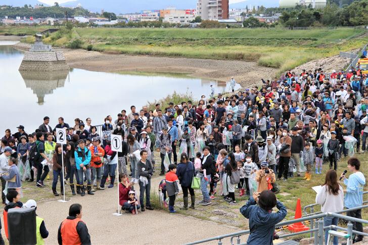 「狭山池クリーンアクション」×「コスモ-アースコンシャス-アクト-クリーン・キャンペーン-in-狭山池」が開催されました-(1)