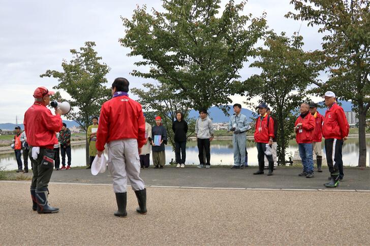「狭山池クリーンアクション」×「コスモ-アースコンシャス-アクト-クリーン・キャンペーン-in-狭山池」が開催されました-(10)