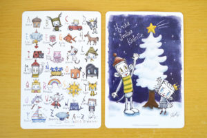 【枚数限定】Katy(ケイティー)さんの絵本を購入して、「オリジナルグリーティングカード」をもらおう!