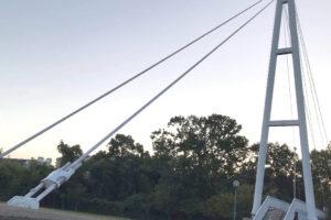 西新町公園から初芝立命館高等学校(旧桃山学院大学)に架かる橋「聖アンデレ橋」に行ってきました (1)