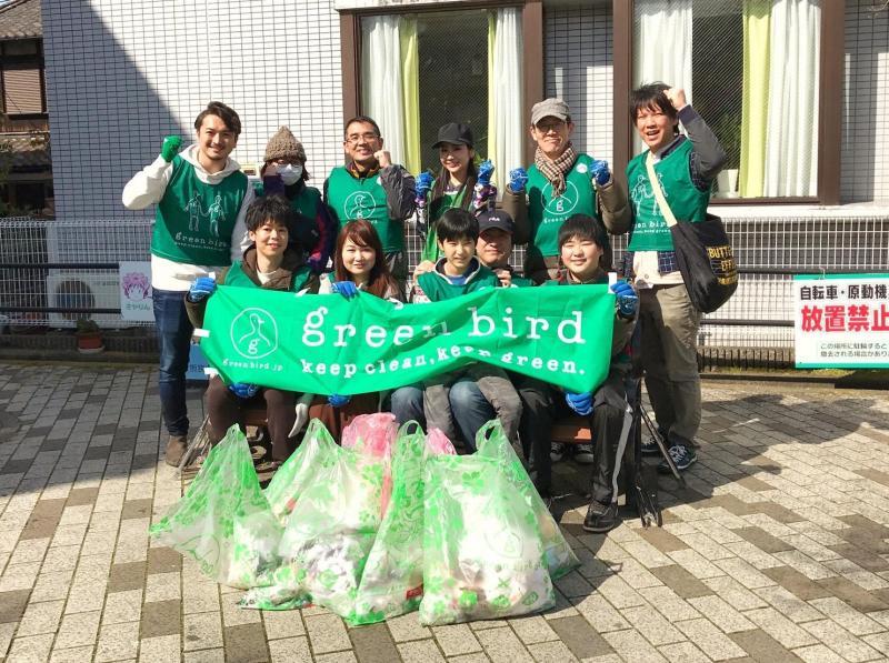 グリーンバード代表の福田さんもサプライズ参加!