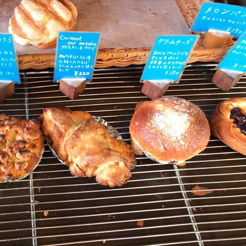 大阪狭山市駅前のパン屋さん「Pain+(パンプラス)」に散歩途中に寄ってきました (2)