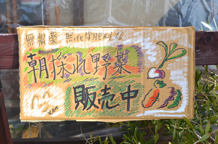 【小さなお子様も安心】旬の無農薬野菜を直売!「笑ノ百姓(えみのひゃくしょう)」
