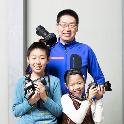 親子写真家ユニット「Photography-to-commune1