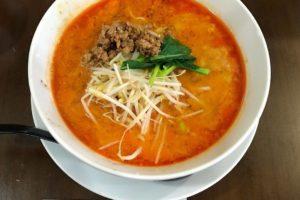四川担々麺】国道310号線沿いにある四川料理のお店「翠陽(すいよう)」さんに行ってきました (2)