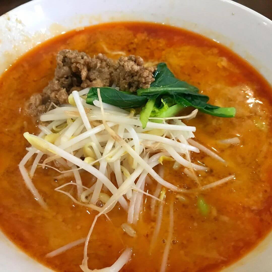 四川担々麺】国道310号線沿いにある四川料理のお店「翠陽(すいよう)」さんに行ってきました (5)