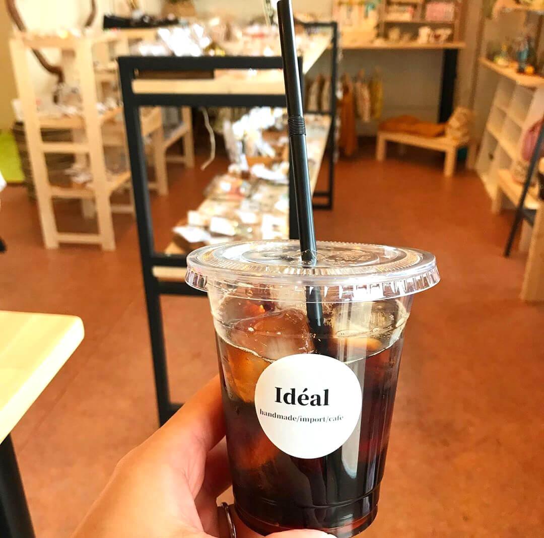 池尻地区の住宅街を散歩中に素敵なお店「ideal(イデアル)」を見つけました (4)