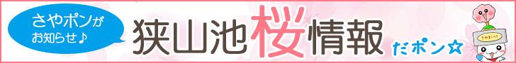 狭山池の桜情報