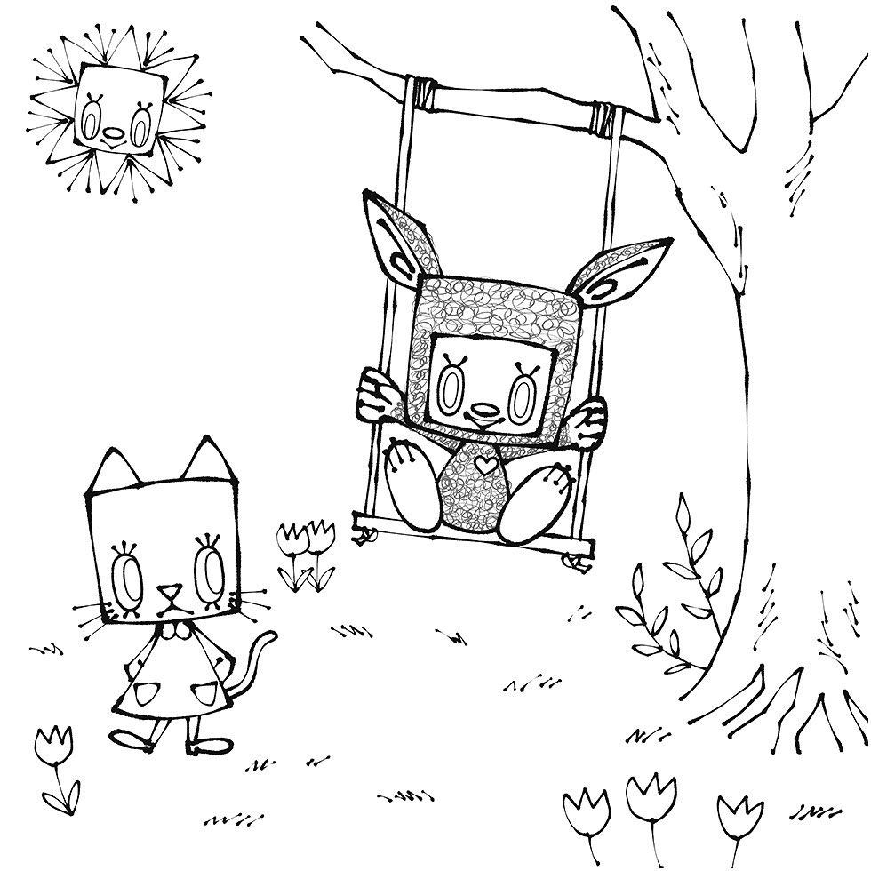 絵本作家「Katy(ケイティー)」さんの「ケイティーのぬりえ」が公開されました (2)