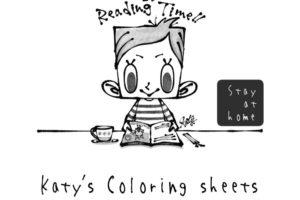 絵本作家「Katy(ケイティー)」さんの「ケイティーのぬりえ」が公開されました (1)