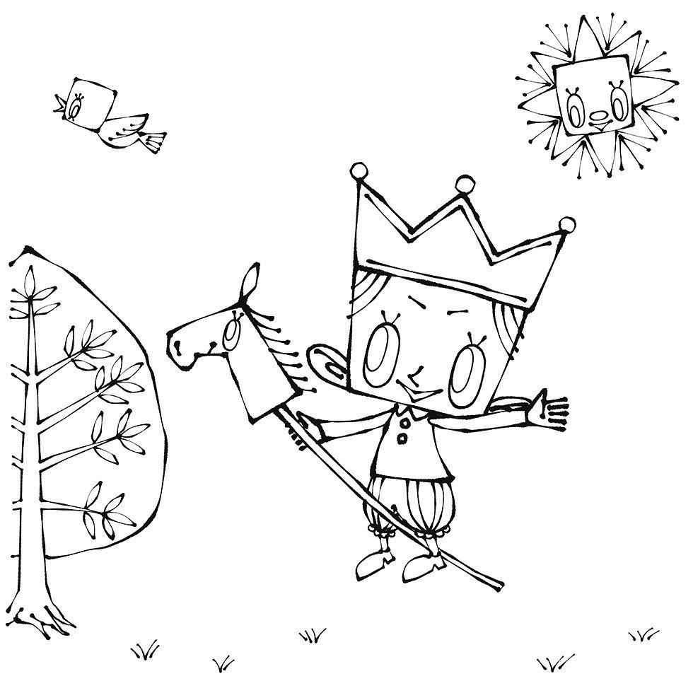 絵本作家「Katy(ケイティー)」さんの「ケイティーのぬりえ」が公開されました (3)