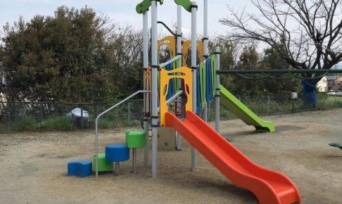 東野第1公園の遊具がリニューアルされているのを発見しました (3)