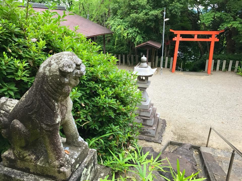 「池之原神社」へお散歩【2018年7月28日】 (1)