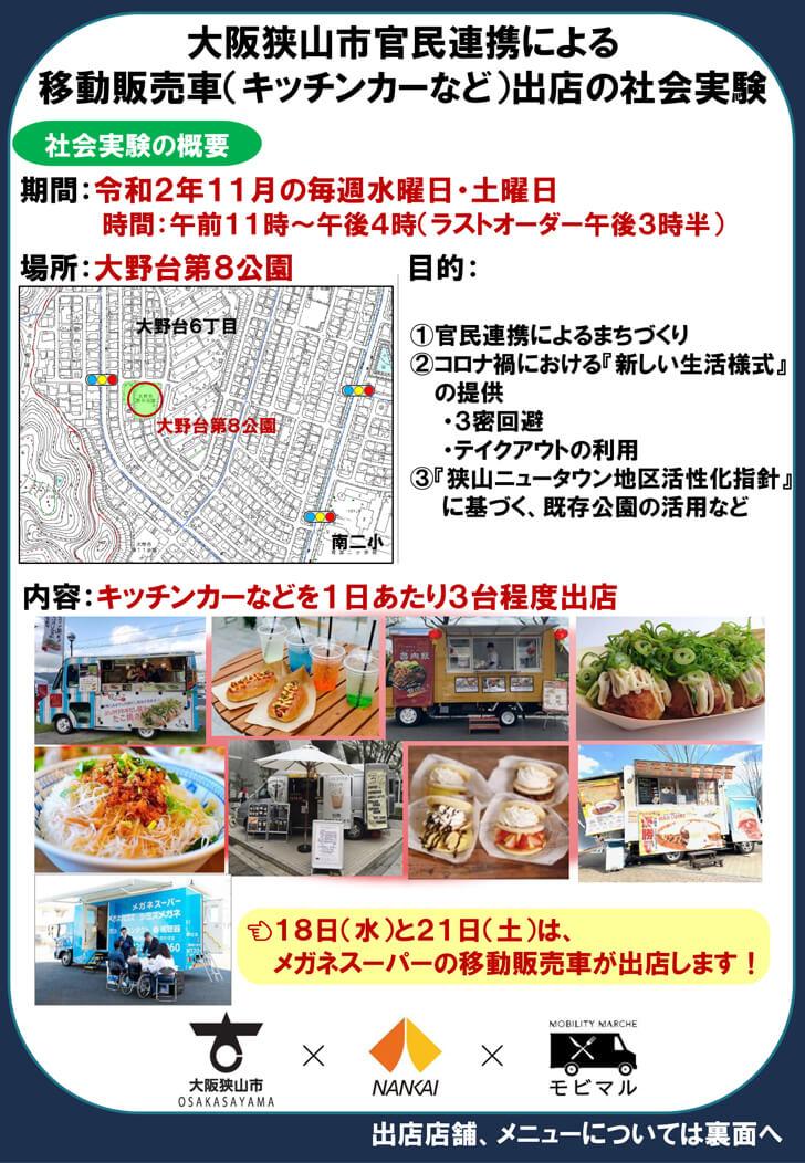 【出店日の様子も掲載】大阪狭山市に「キッチンカーがやってくる!」大野台-(1)