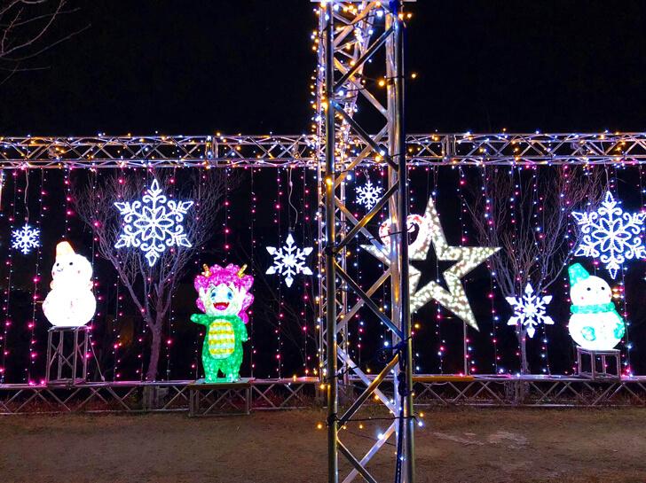 2020-12-01【2020年】狭山池で「桜まつり~冬~大阪狭山イルミネーション」が、12月1日から12月25日まで開催-(1)