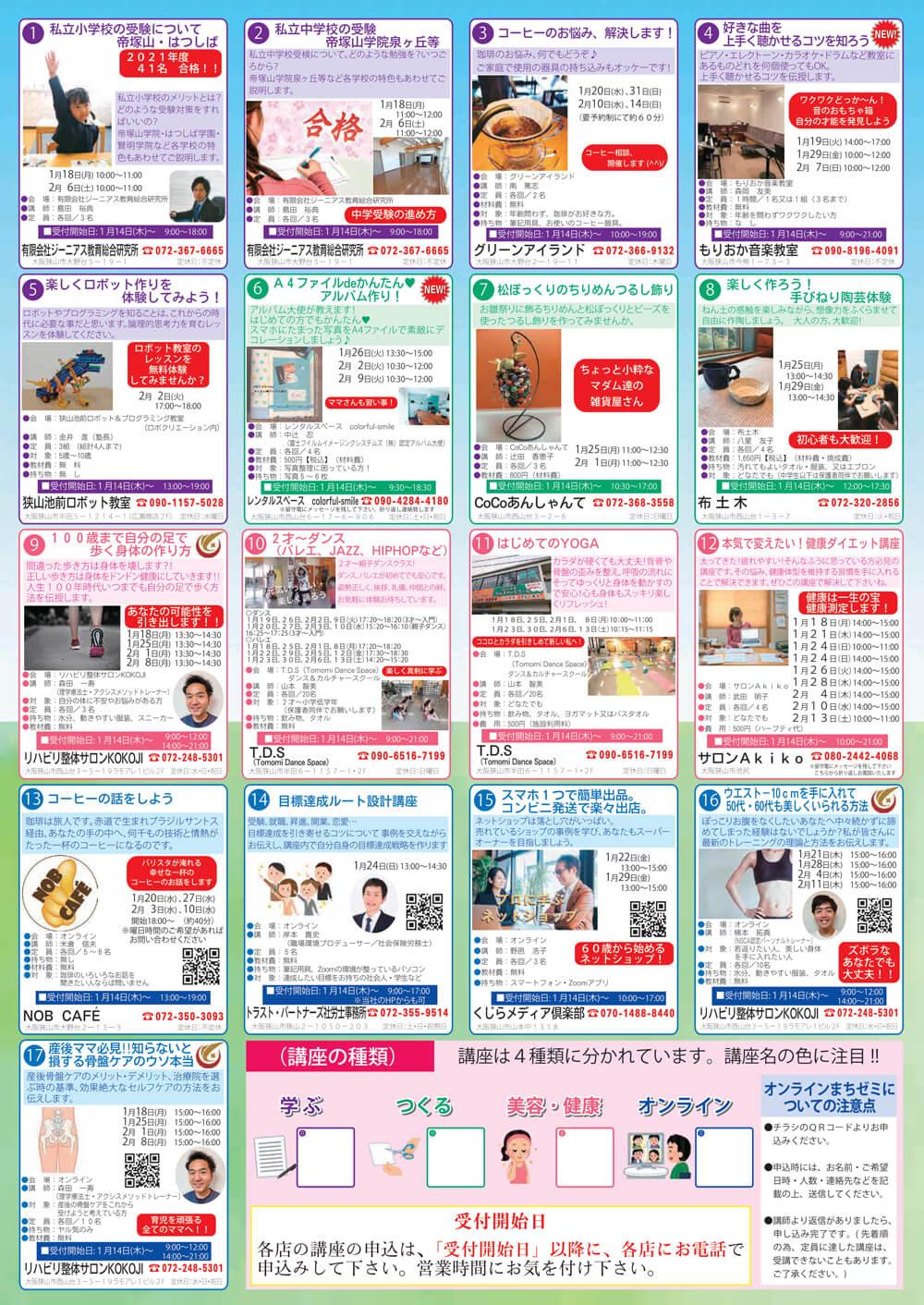 「第12回まちゼミ」が2021年1月18日(月)~2月14日(日)まで開催アイキャッチ画像裏-1