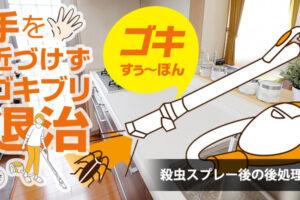 【各メディアで話題の商品】殺虫スプレー後のゴキブリを触れずにゴミ箱へ!「ゴキすぅ~ぽん」が3月下旬より販売開始!! (5)