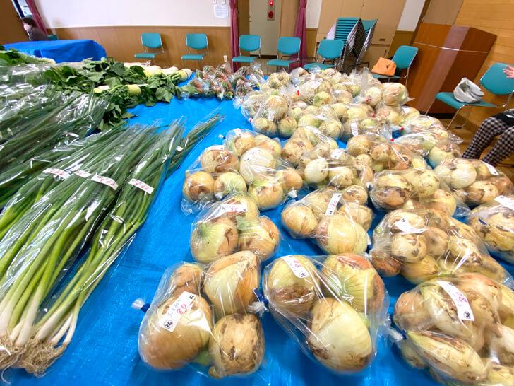 【大阪狭山の新鮮なお野菜】東池尻会館で行われている「朝市」に行ってきました-(12)