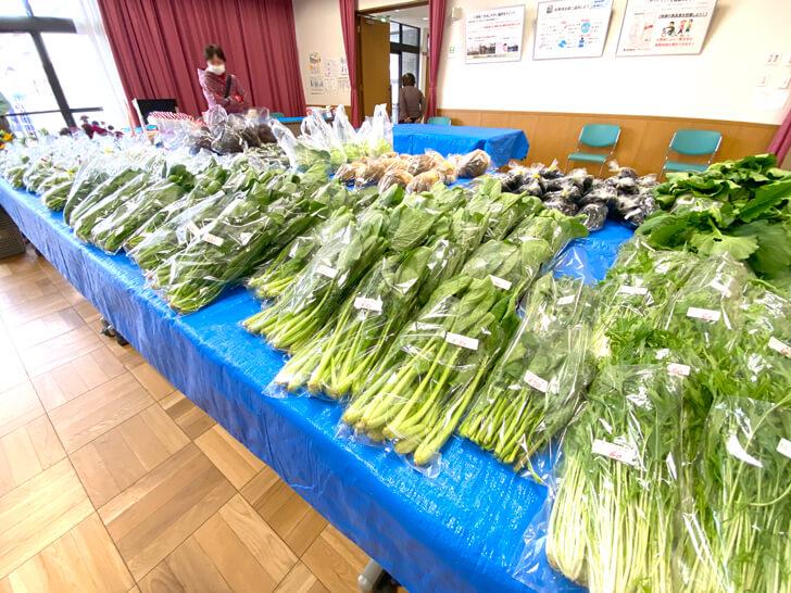 【大阪狭山の新鮮なお野菜】東池尻会館で行われている「朝市」に行ってきました-(13)