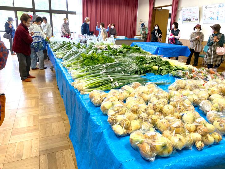 【大阪狭山の新鮮なお野菜】東池尻会館で行われている「朝市」に行ってきました2-(5)