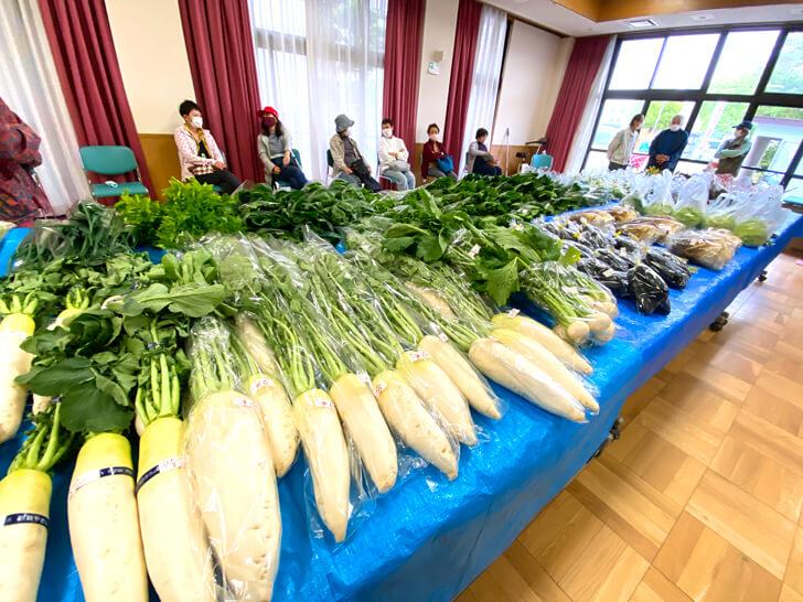 【大阪狭山の新鮮なお野菜】東池尻会館で行われている「朝市」に行ってきました2-(12)