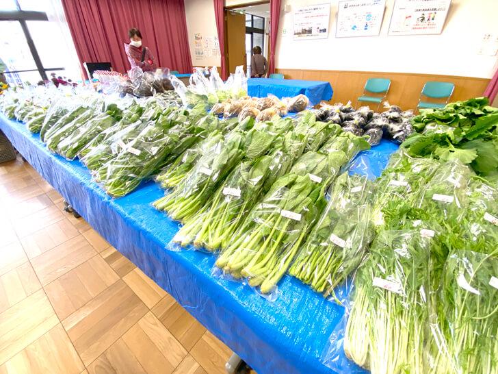 【大阪狭山の新鮮なお野菜】東池尻会館で行われている「朝市」に行ってきました2-(9)