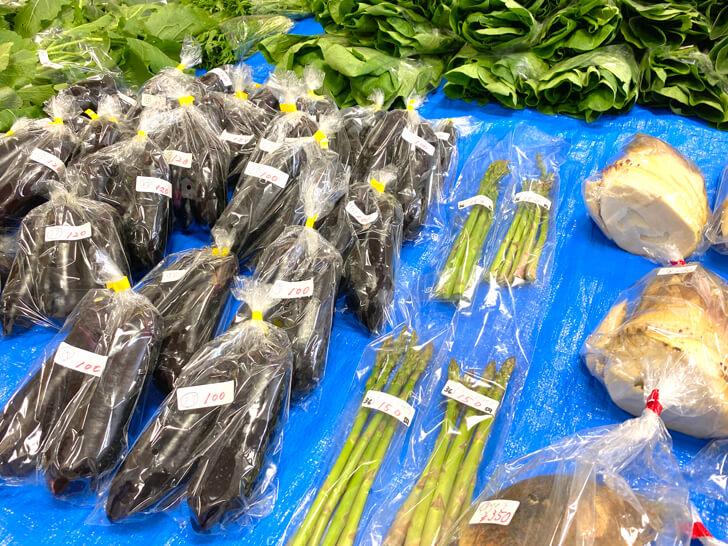 【大阪狭山の新鮮なお野菜】東池尻会館で行われている「朝市」に行ってきました2-(13)