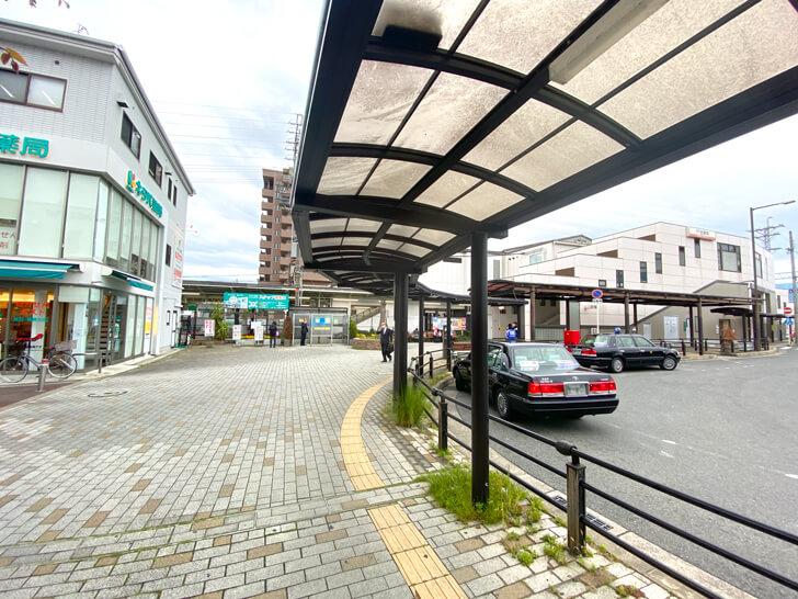 金剛駅前(西側ロータリー)の喫茶店「カフェ ブルーマウンテン」 (1)