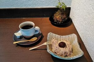 【狭山池近く】オシャレな和カフェ「小春や珈琲」に行ってきました (2)